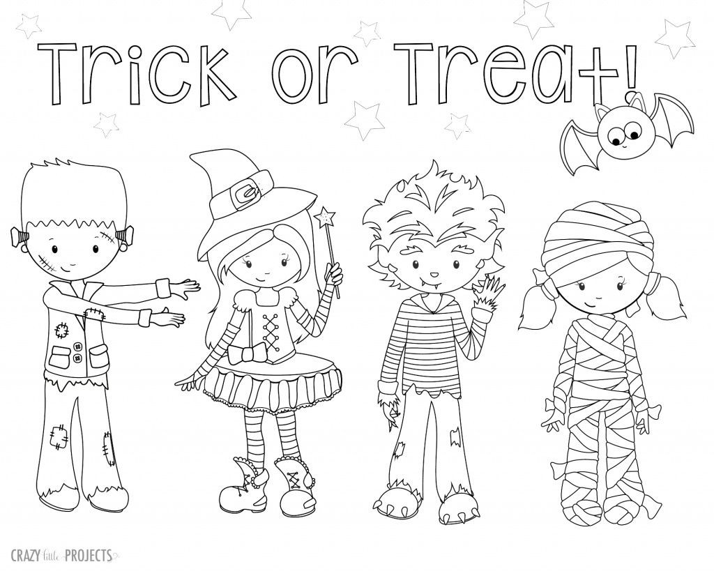 Best ideas about Cute Halloween Coloring Sheets For Kids . Save or Pin Cute Free Printable Halloween Coloring Pages Now.