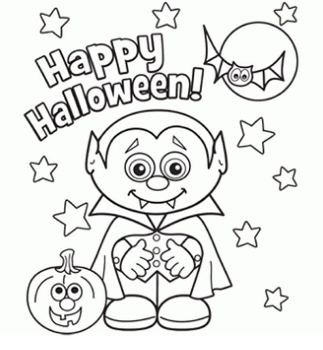 Best ideas about Cute Halloween Coloring Sheets For Kids . Save or Pin 25 best ideas about Halloween coloring on Pinterest Now.