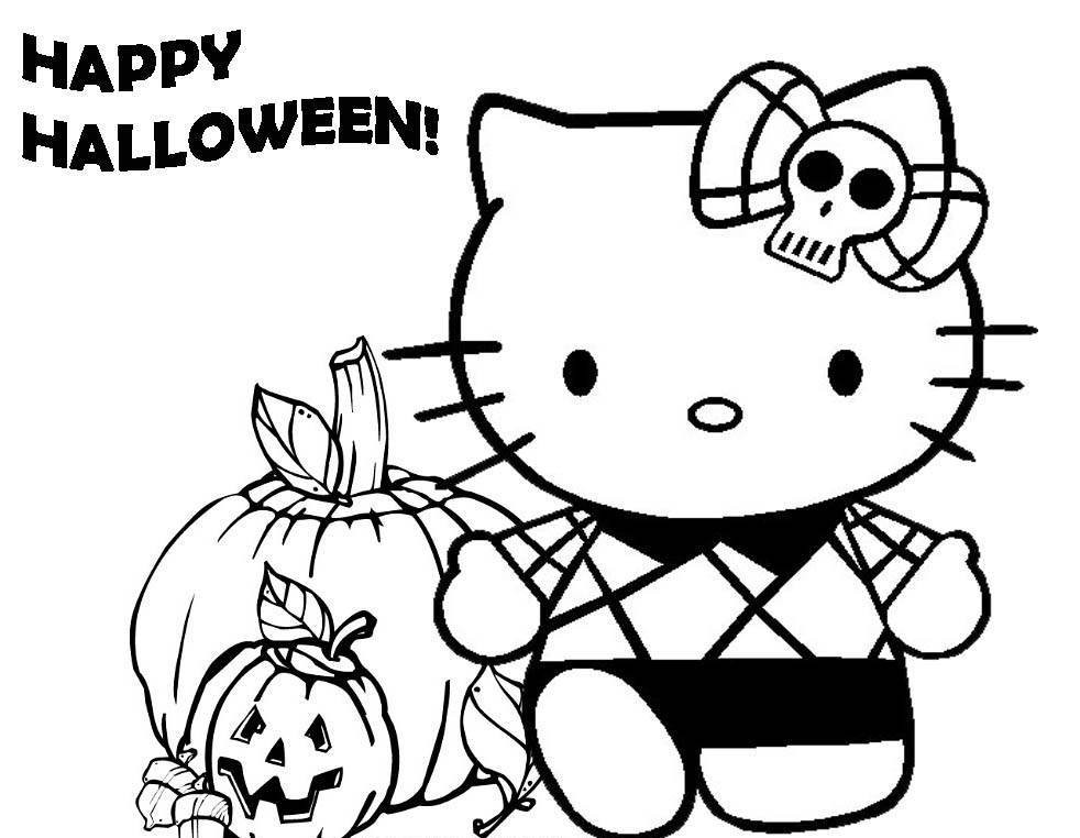 Best ideas about Cute Halloween Coloring Sheets For Kids . Save or Pin Cute Halloween Coloring Pages Coloring Home Now.