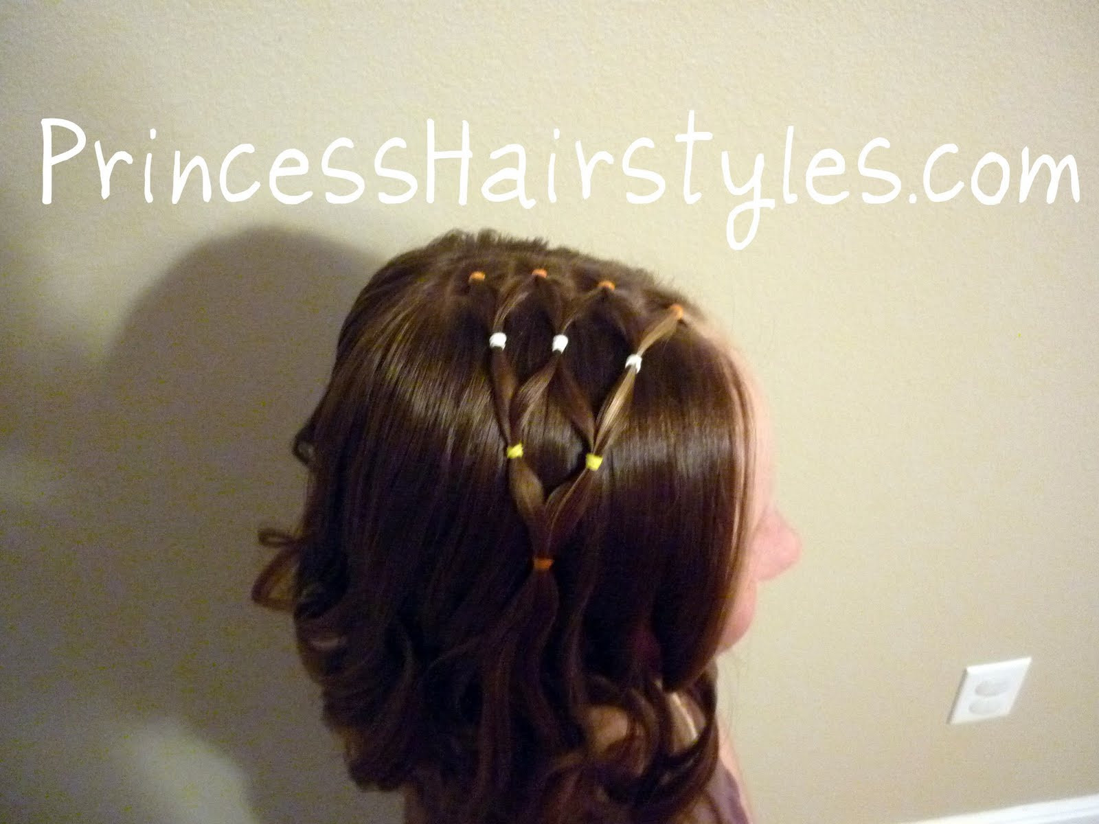 Best ideas about Cute Halloween Hairstyles . Save or Pin Candy Corn Hairstyle Hairstyles For Girls Princess Now.