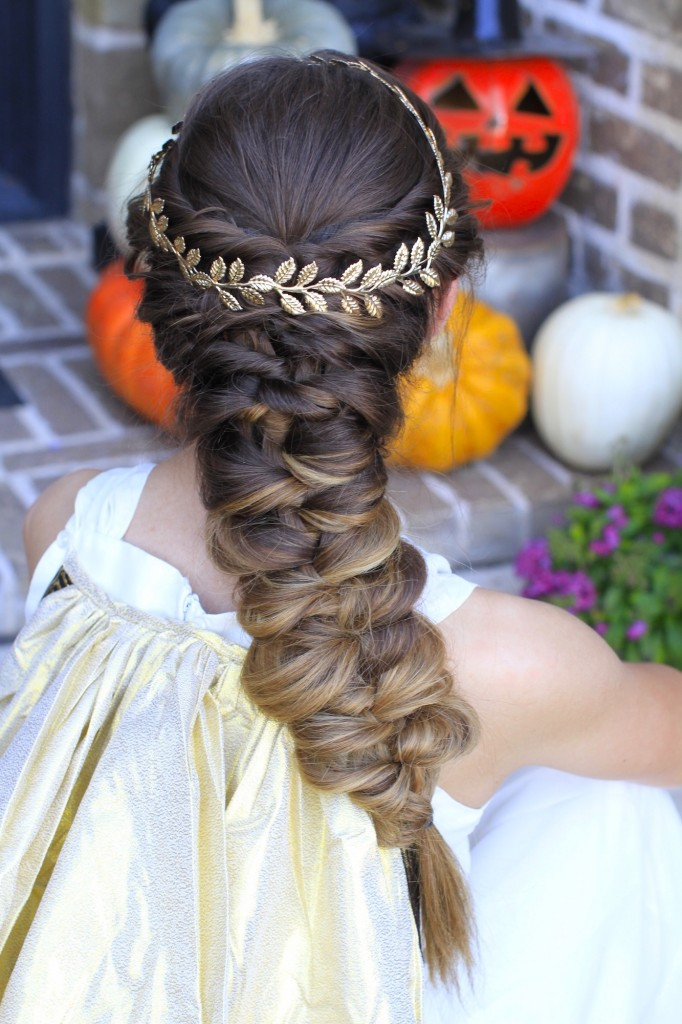 Best ideas about Cute Halloween Hairstyles . Save or Pin Twist Faux Braid Halloween Hairstyles Now.