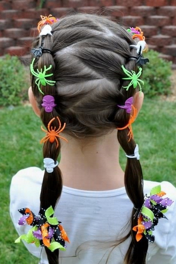 Best ideas about Cute Halloween Hairstyles . Save or Pin 28 Cute Hairstyles for Little Girls Hairstyles Weekly Now.