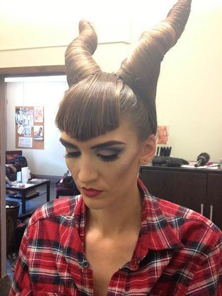 Best ideas about Cute Halloween Hairstyles . Save or Pin 14 Cute Halloween Hairstyles You Will Love To Try Now.