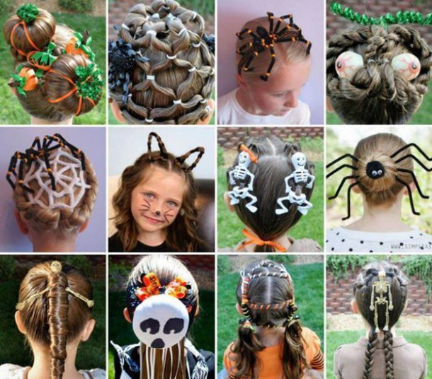 Best ideas about Cute Halloween Hairstyles . Save or Pin hair accessory halloween hairstyles kids fashion cool Now.