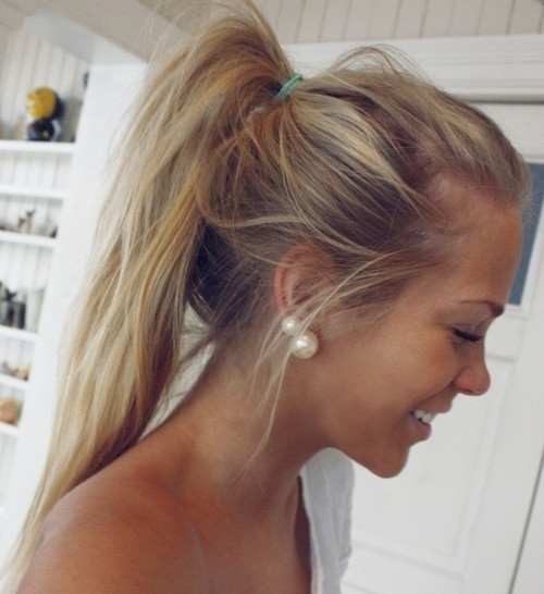 """Best ideas about Cute Lazy Hairstyles . Save or Pin 3 easy """"lazy day"""" hairstyles Now."""
