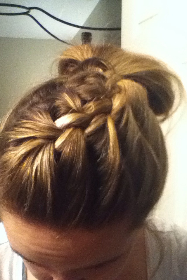 Best ideas about Cute Lazy Hairstyles . Save or Pin 25 best Lazy Day Hairstyles images on Pinterest Now.