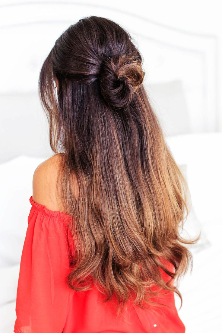 Best ideas about Cute Lazy Hairstyles . Save or Pin 25 best ideas about Lazy Day Hairstyles on Pinterest Now.