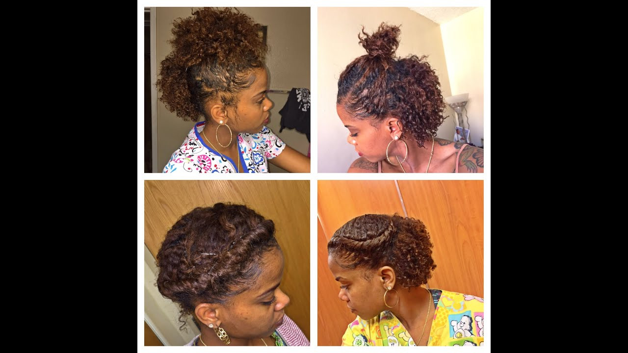 Best ideas about Cute Natural Hairstyles . Save or Pin 6 CUTE HAIRSTYLES FOR A BRAID OUT Now.