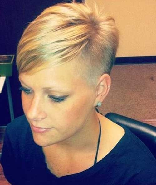 Best ideas about Cute Shaved Hairstyles . Save or Pin 20 Cute Girl Short Haircuts Now.