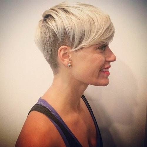 Best ideas about Cute Shaved Hairstyles . Save or Pin Cute Shaved Hairstyles For Women Now.