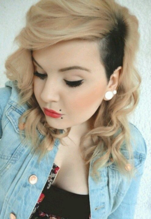 Best ideas about Cute Shaved Hairstyles . Save or Pin Cute Shaved Side Hairstyles Now.