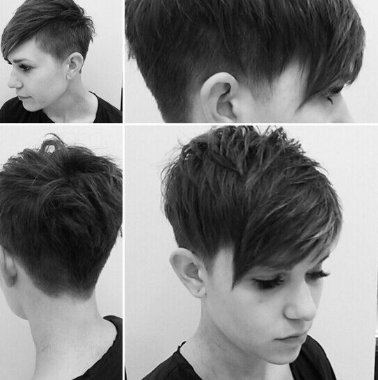 Best ideas about Cute Shaved Hairstyles . Save or Pin 60 Cool Short Hairstyles & New Short Hair Trends Women Now.