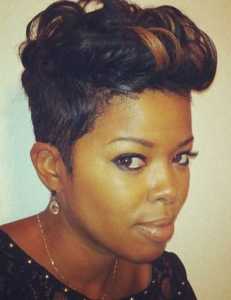 Best ideas about Cute Short Black Hairstyles . Save or Pin 16 Cute Hairstyles for Short Hair PoPular Haircuts Now.