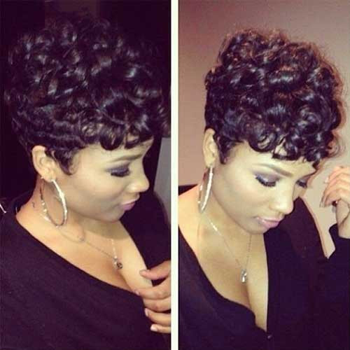 Best ideas about Cute Short Black Hairstyles . Save or Pin 20 Cute Hairstyles for Black Girls Now.
