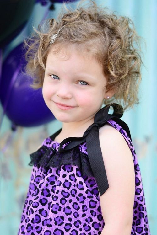 Best ideas about Cute Short Haircuts For Kids . Save or Pin Cute Hairstyles for Short Curly Hair for Kids Party New Now.