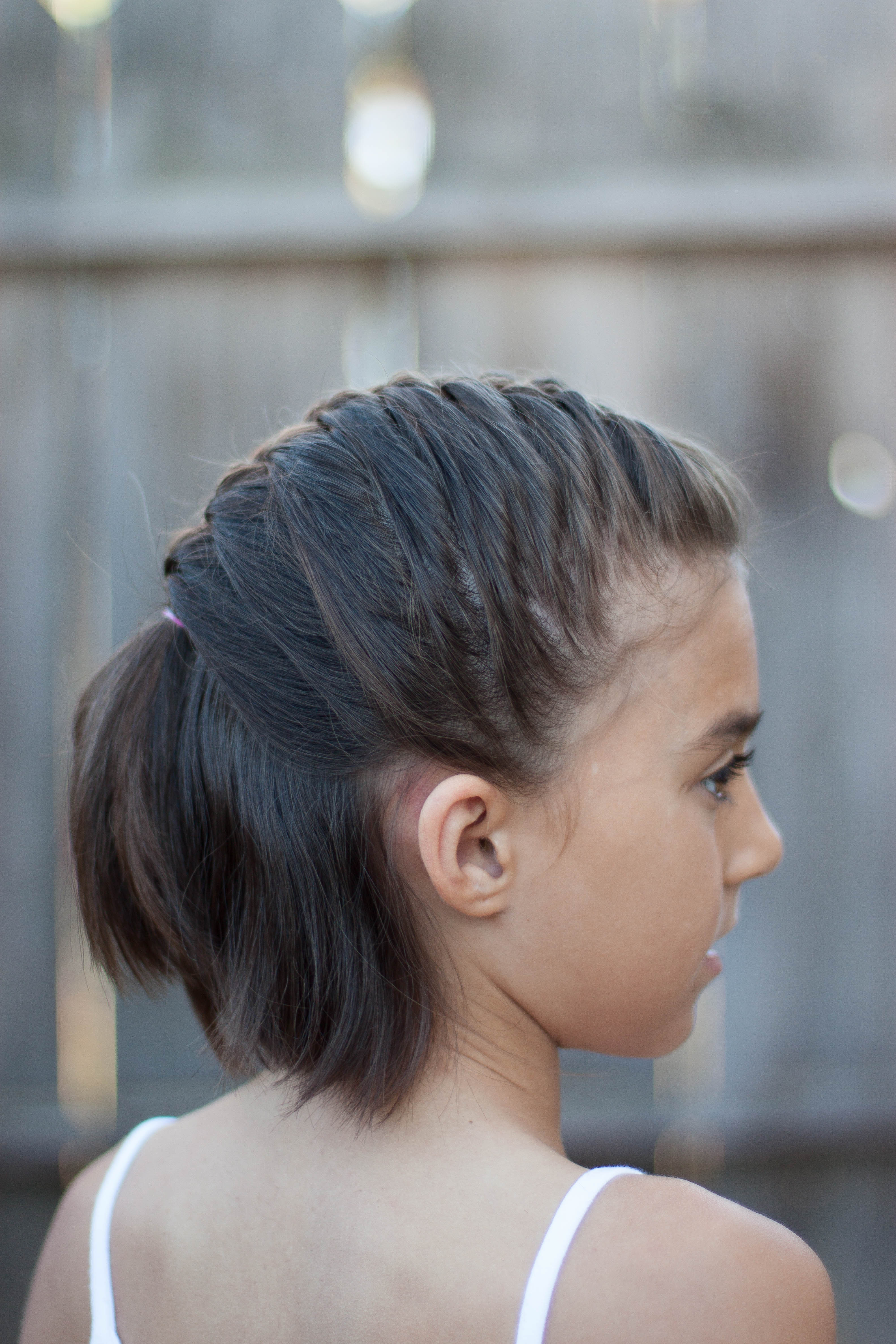 Best ideas about Cute Short Haircuts For Kids . Save or Pin 5 Braids for Short Hair Now.