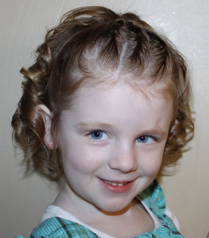 Best ideas about Cute Short Haircuts For Kids . Save or Pin Braid Toddler Girl Hairstyles Girl s hair Now.