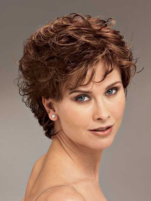 Best ideas about Cute Short Haircuts For Round Faces . Save or Pin Best cute short layered haircuts for round face shape Now.