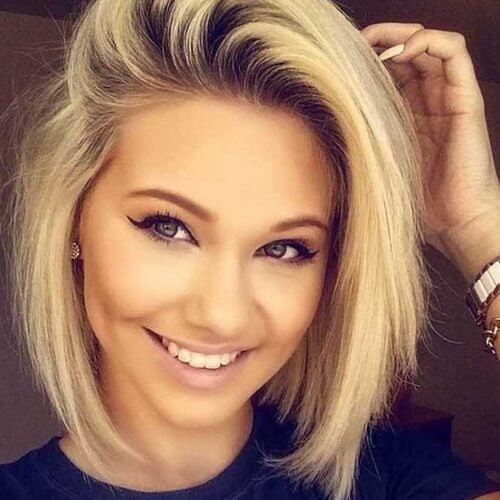 Best ideas about Cute Short Haircuts For Round Faces . Save or Pin 50 Remarkable Short Haircuts for Round Faces Now.