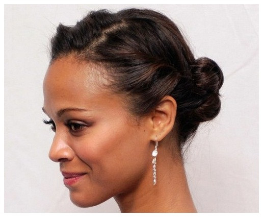 Best ideas about Cute Short Hairstyles For African American Hair . Save or Pin Cute Updos For Short Hair African American Now.