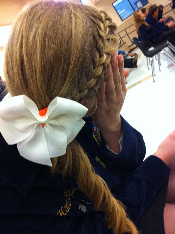 Best ideas about Cute Softball Hairstyles . Save or Pin 19 best images about Softball hair on Pinterest Now.