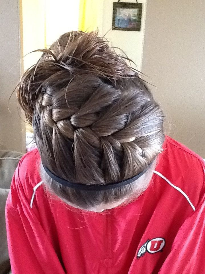 Best ideas about Cute Softball Hairstyles . Save or Pin 25 Best Ideas about Sport Hairstyles on Pinterest Now.
