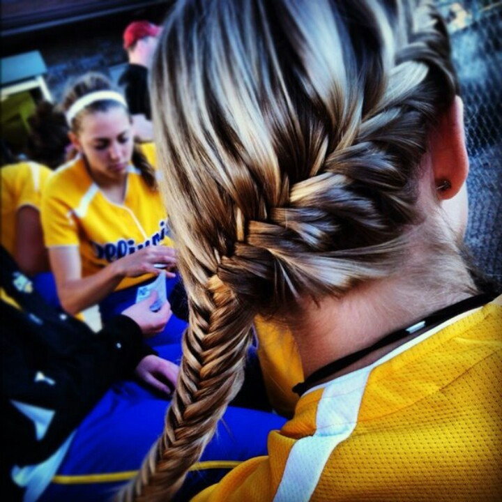 Best ideas about Cute Softball Hairstyles . Save or Pin As softball players we like to experiment different Now.