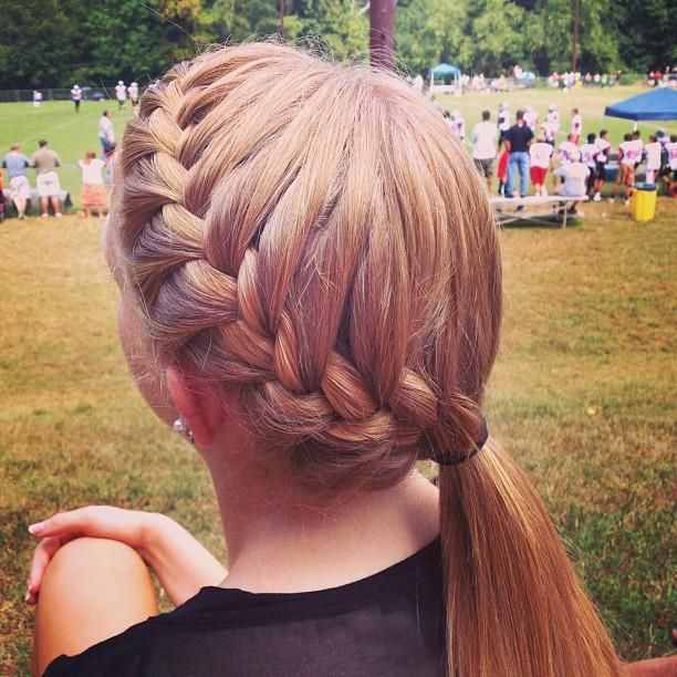 Best ideas about Cute Softball Hairstyles . Save or Pin 1000 ideas about Sport Hairstyles on Pinterest Now.