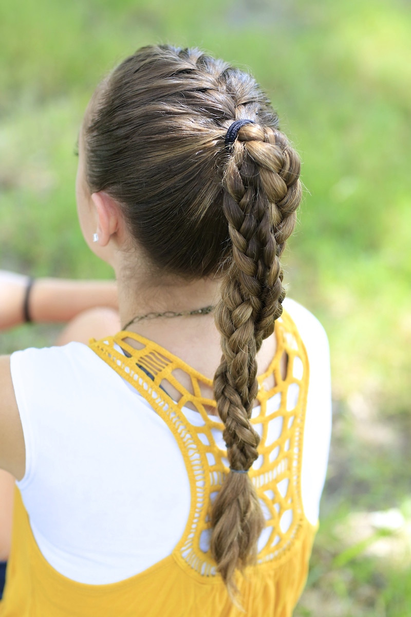 Best ideas about Cute Softball Hairstyles . Save or Pin The Run Braid bo Hairstyles for Sports Now.