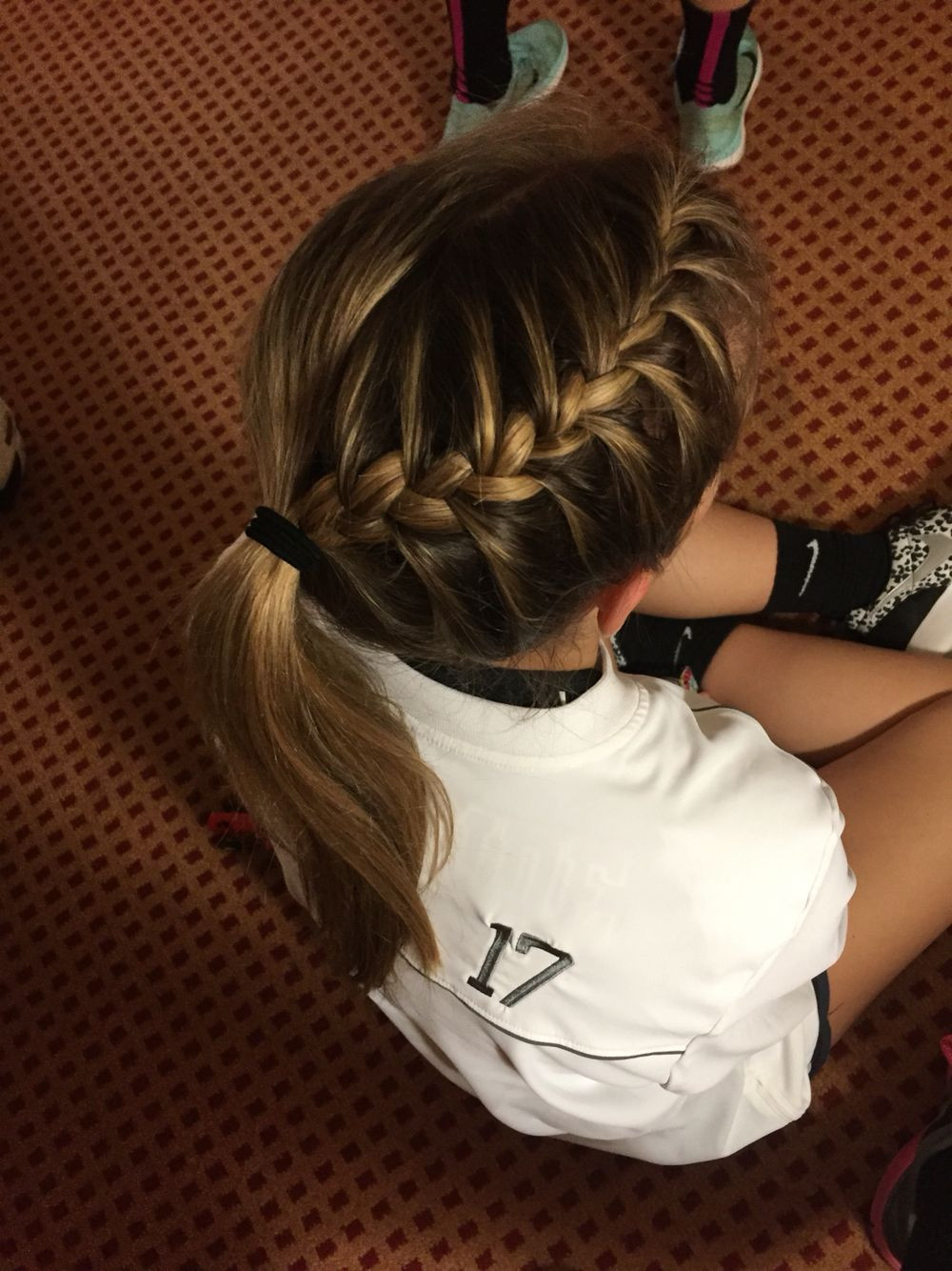 Best ideas about Cute Softball Hairstyles . Save or Pin Perfect braid for a volleyball game Hair Now.