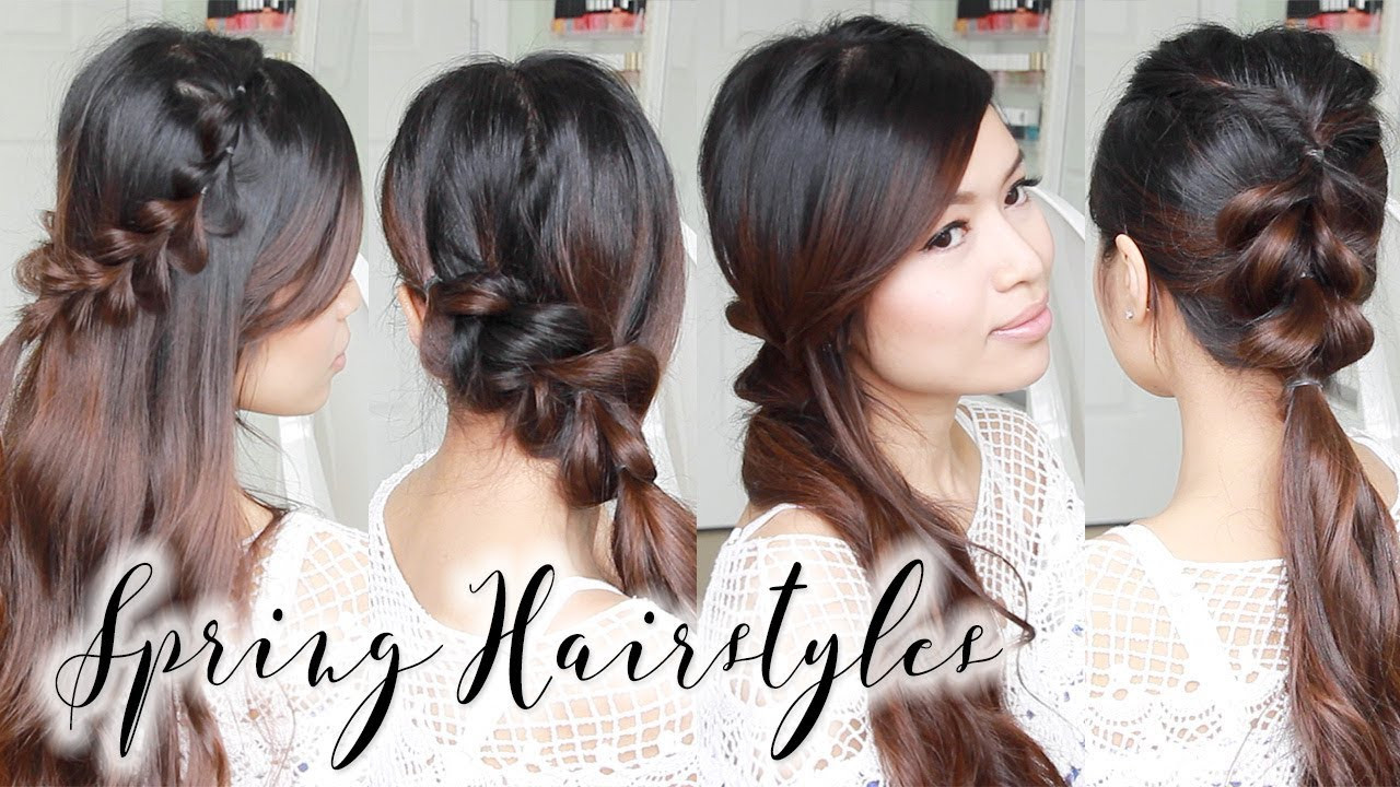 Best ideas about Cute Spring Hairstyles . Save or Pin Cute & Easy Spring Hairstyles ♥ Braided Hair Tutorial for Now.