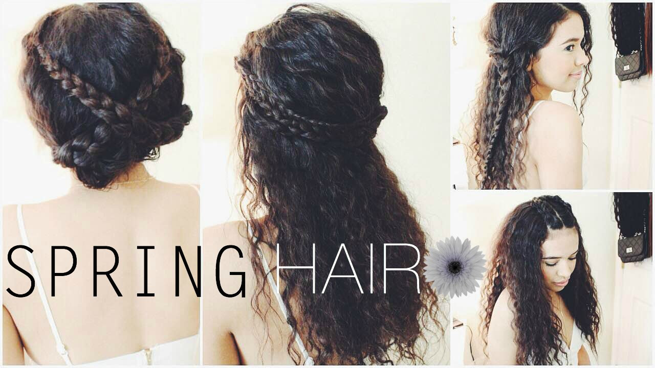 Best ideas about Cute Spring Hairstyles . Save or Pin Cute Braided Spring Hairstyles for School Now.