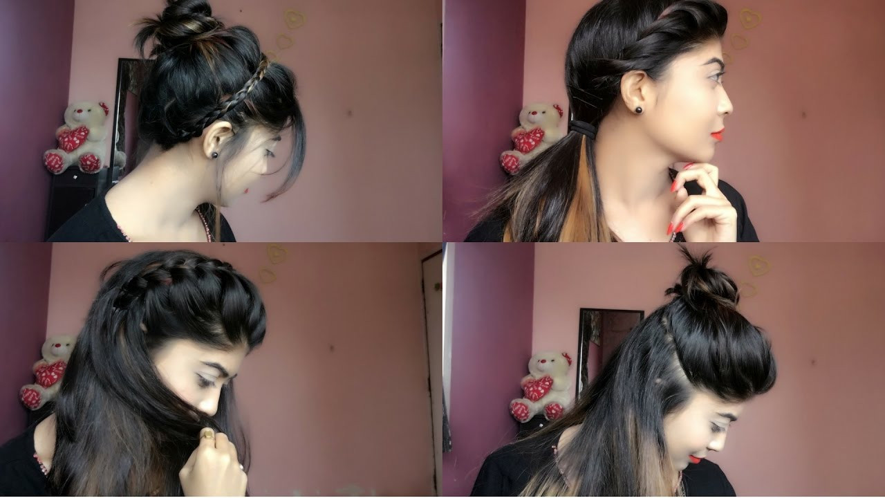 Best ideas about Cute Summer Hairstyles . Save or Pin 4 Easy & cute Summer Hairstyles Now.