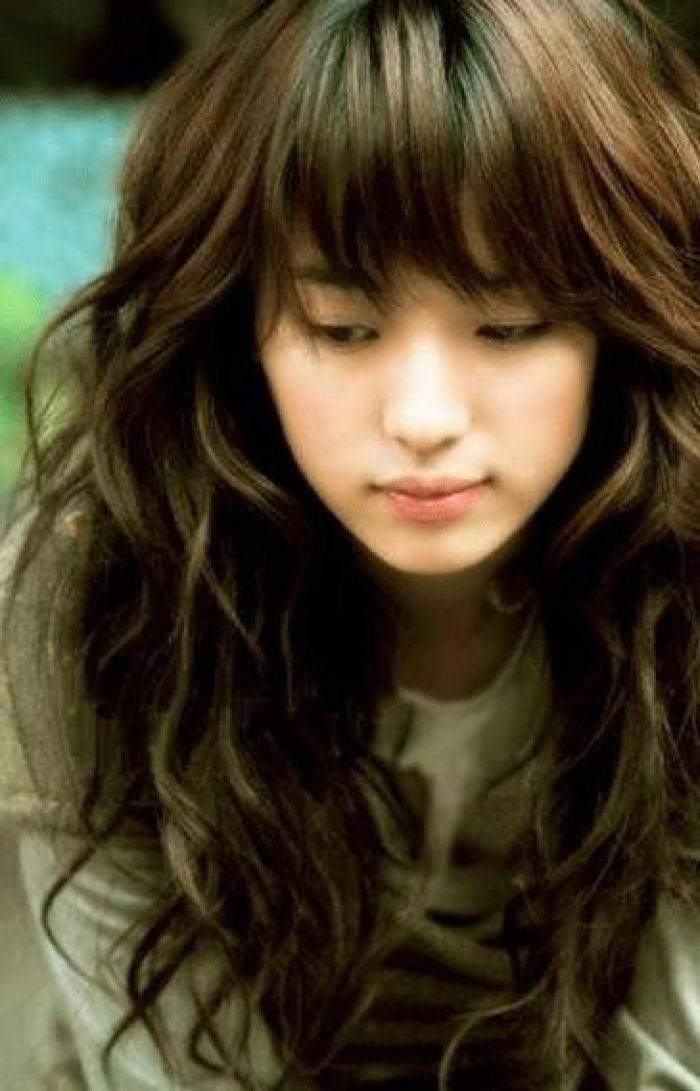 Best ideas about Cute Wavy Hairstyles . Save or Pin 30 Cute Styles Featuring Curly Hair with Bangs Fave Now.