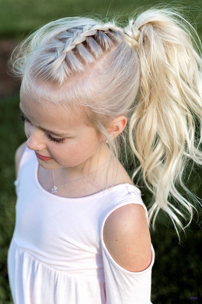 Best ideas about Cute White Girl Hairstyles . Save or Pin 1001 ideas for beautiful and easy little girl hairstyles Now.