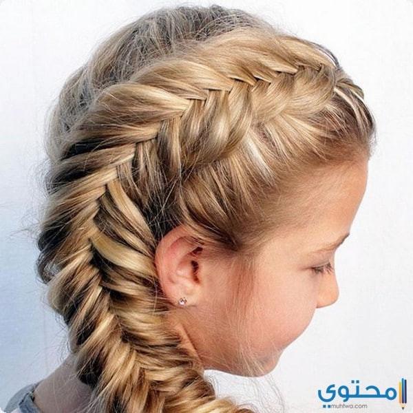 Best ideas about Cute White Girl Hairstyles . Save or Pin صور تسريحات شعر للأطفال البنات 1439 موقع محتوى Now.