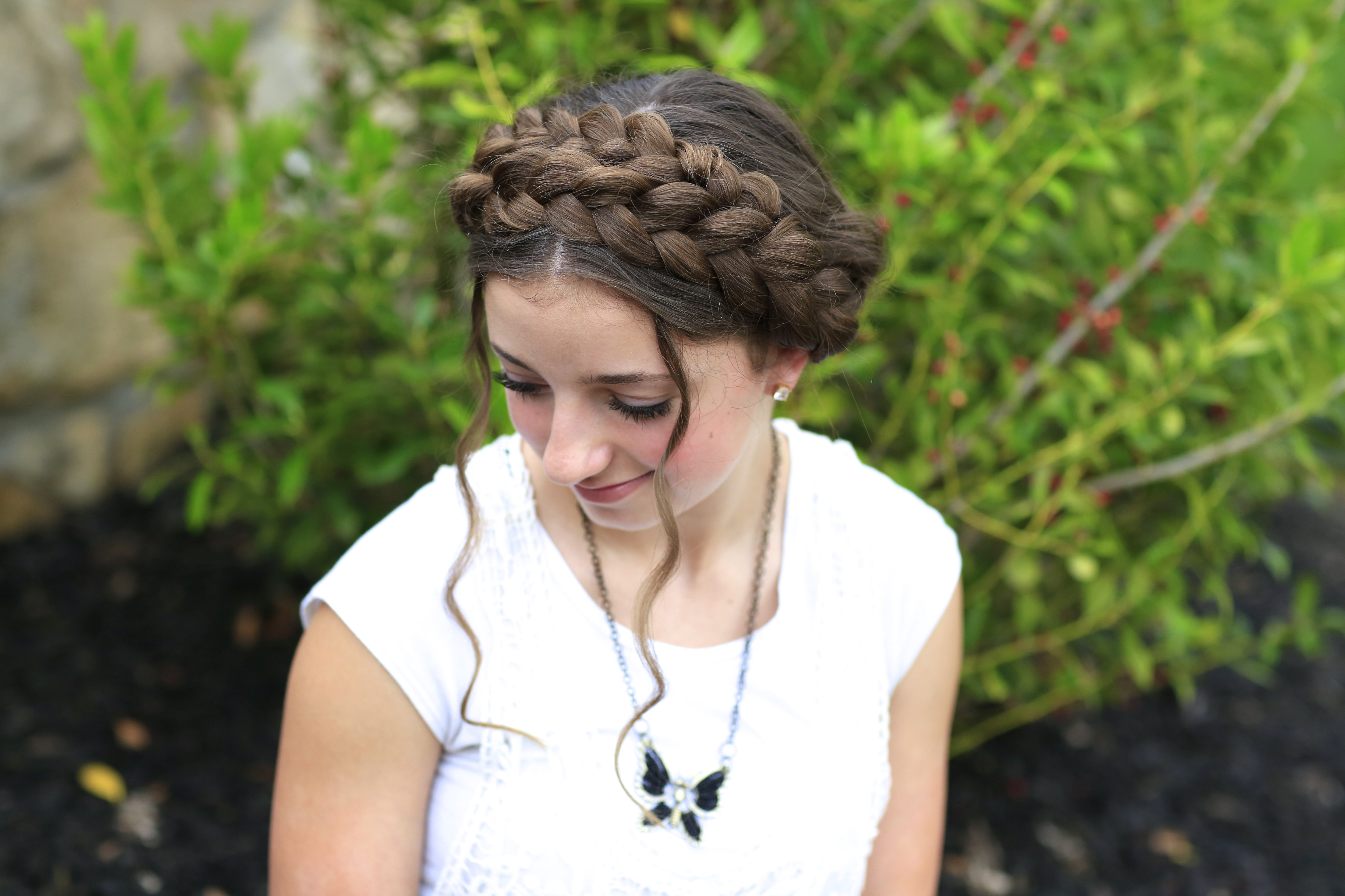 Best ideas about Cute White Girl Hairstyles . Save or Pin Milkmaid Braid Cute Summer Hairstyles Now.