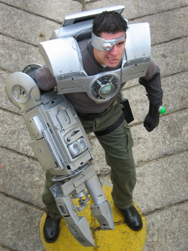 Best ideas about Cyborg Costume DIY . Save or Pin 13 DIY Halloween Costumes Best Homemade Halloween Now.