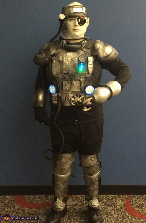 Best ideas about Cyborg Costume DIY . Save or Pin Homemade Cyborg Costume Now.