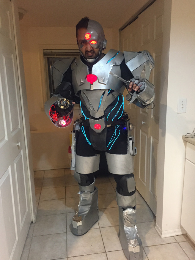 Best ideas about Cyborg Costume DIY . Save or Pin Justice League Cyborg Now.