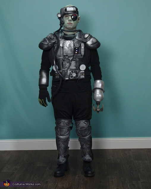 Best ideas about Cyborg Costume DIY . Save or Pin Homemade Cyborg Costume 2 9 Now.
