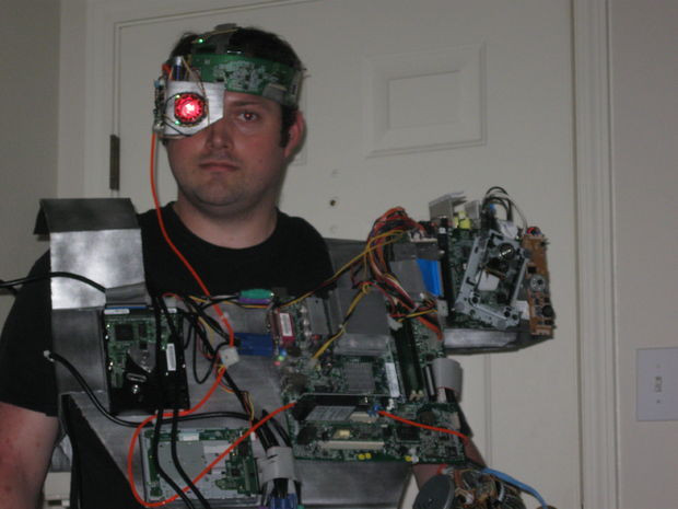 Best ideas about Cyborg Costume DIY . Save or Pin Awesome & Cheap Cyborg Costume Now.