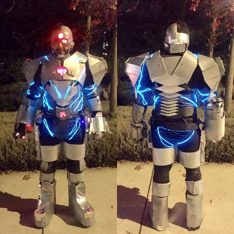 Best ideas about Cyborg Costume DIY . Save or Pin Justice League Cyborg Costume Yeti Now.