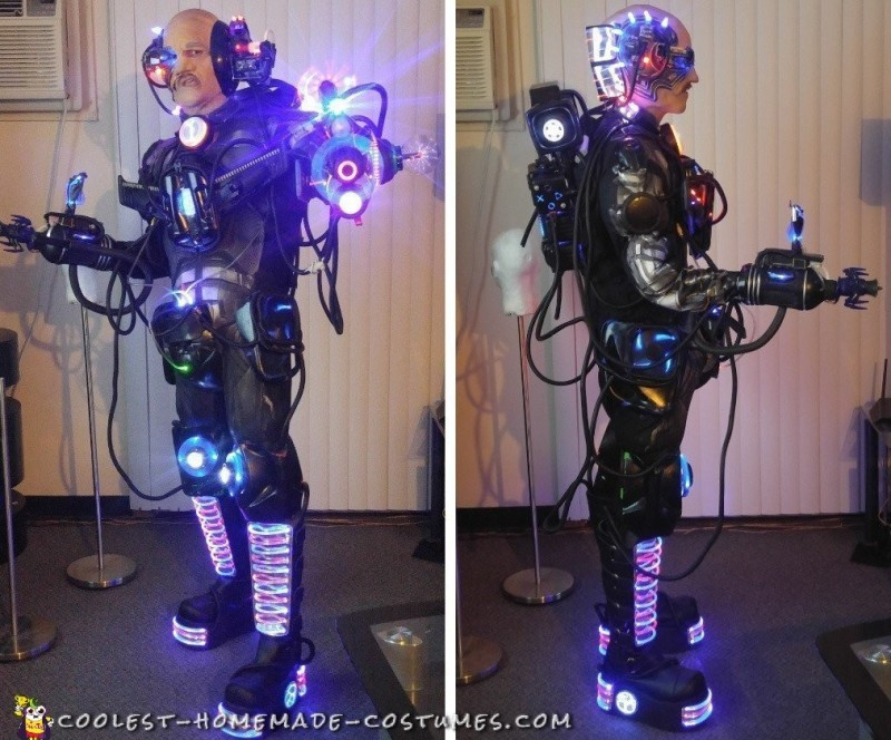 Best ideas about Cyborg Costume DIY . Save or Pin Awesome DIY Cyborg Costume Locutus of Borg MODDED v6 0 Now.