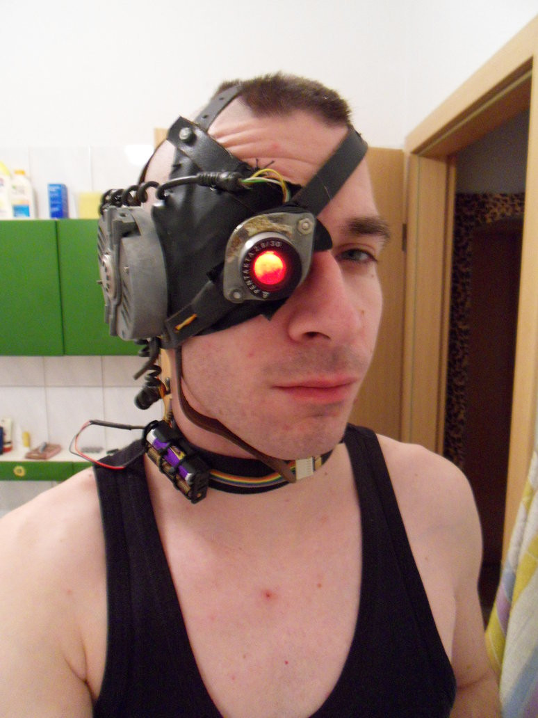Best ideas about Cyborg Costume DIY . Save or Pin Cyborg Costume Head 1 by DIY Punk on DeviantArt Now.
