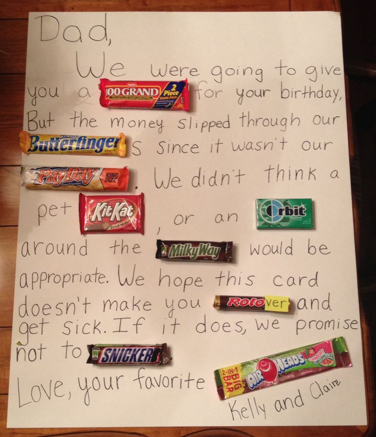 Best ideas about Dad Birthday Gift Ideas . Save or Pin A DIY last minute t that my sister and I made for our Now.
