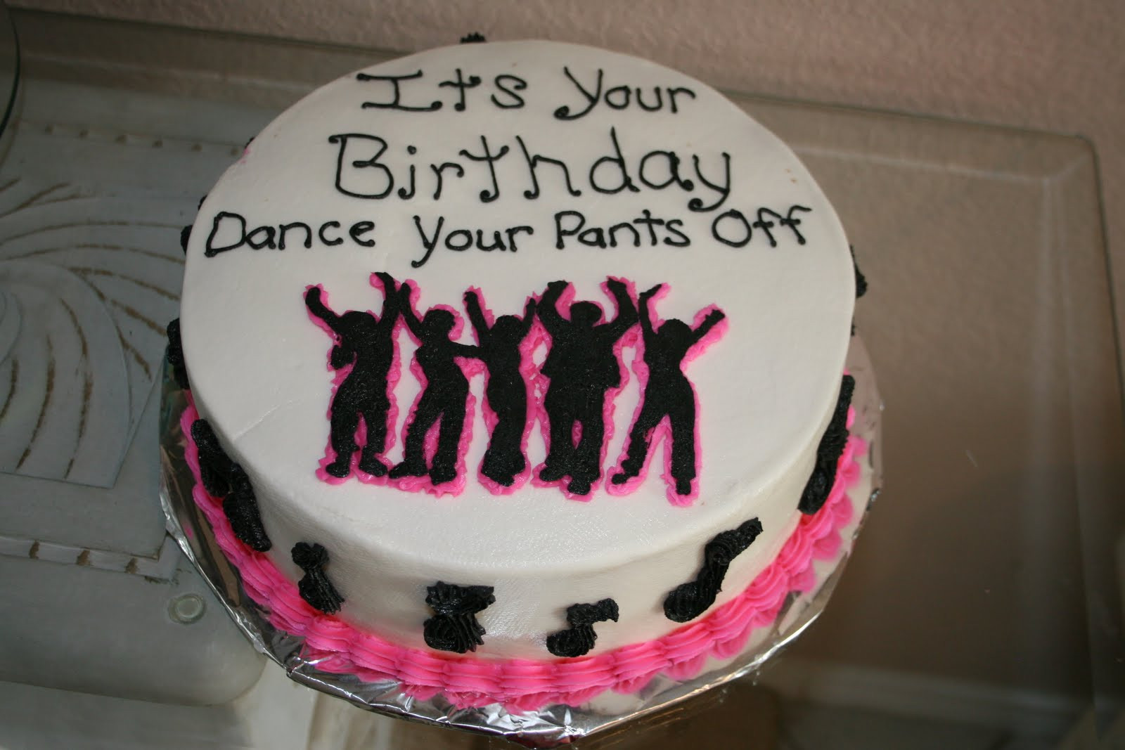 Best ideas about Dancing Birthday Cake . Save or Pin Rachel s Creative Cakes Dance Party Cake Now.