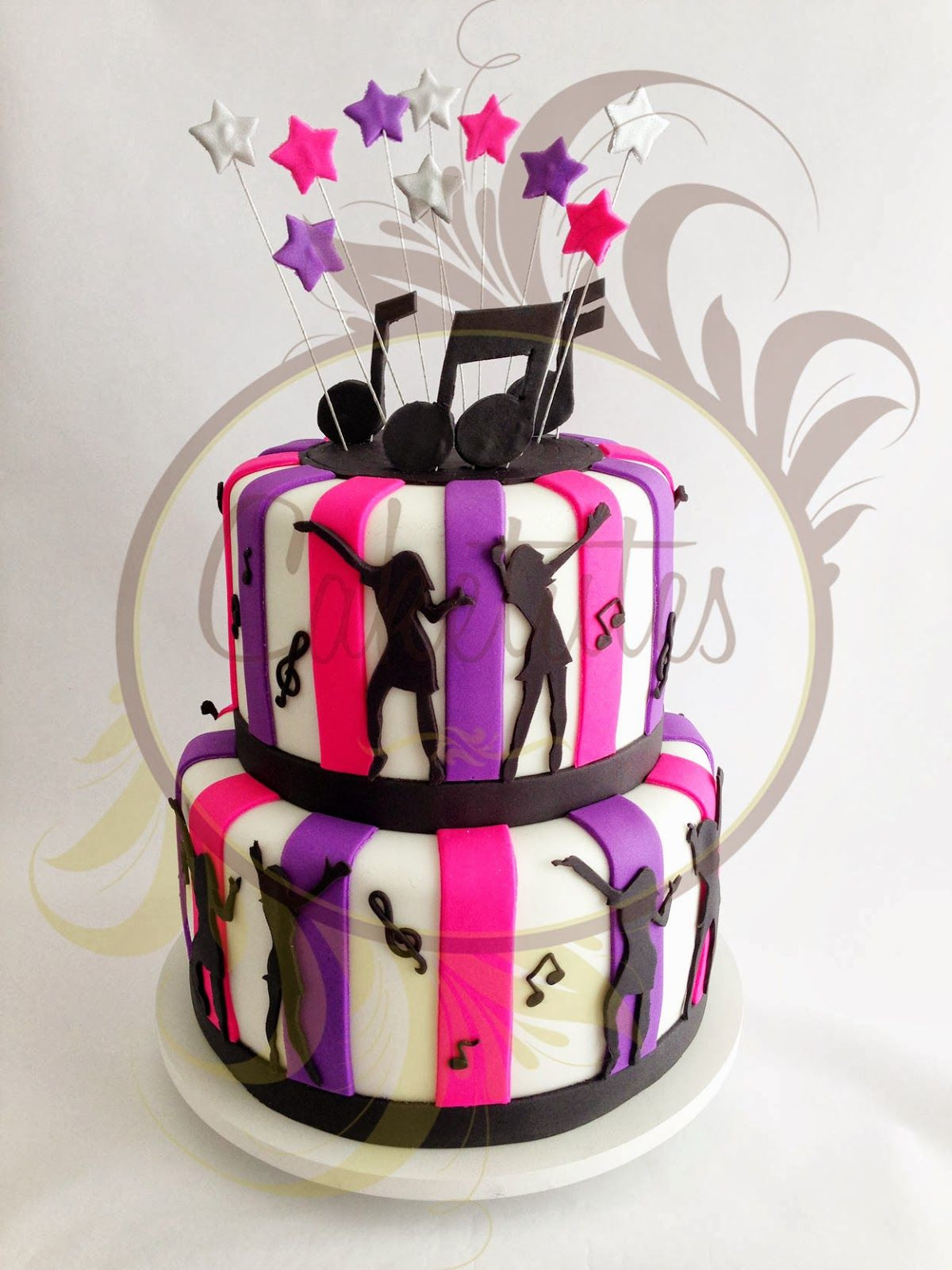 Best ideas about Dancing Birthday Cake . Save or Pin Caketutes Cake Designer Bolo Dance Now.
