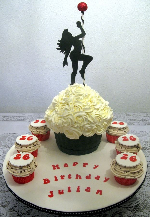 Best ideas about Dancing Birthday Cake . Save or Pin Creamy pole dance cupcake Pole Dance Cake Now.