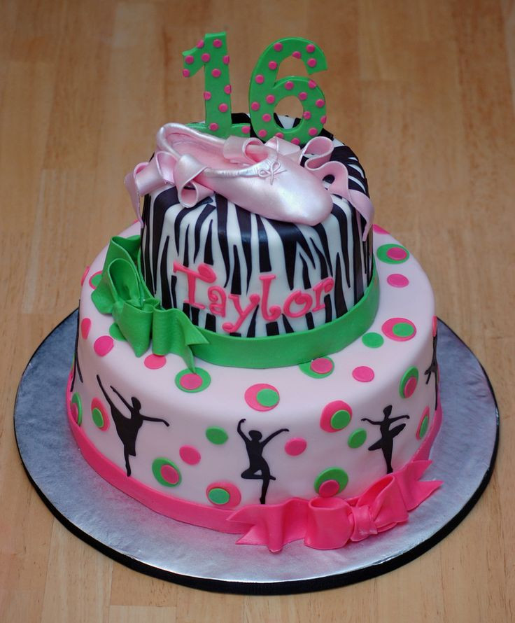 Best ideas about Dancing Birthday Cake . Save or Pin 25 Best Ideas about Dance Cakes on Pinterest Now.